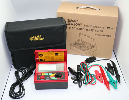 漏电开关测试仪_AR5406漏电开关测试仪